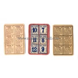 Carnet de Socio del Real Madrid CF 1941