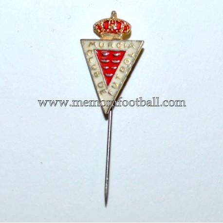 Old Real Murcia enamel badge