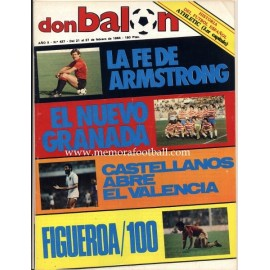 DON BALON (Spanish football magazine) 21-27 February 1984