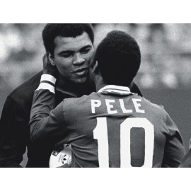 """""""PELÉ"""" 1977 Placa de las Torcidas Brasileñas del CR Flamengo"""