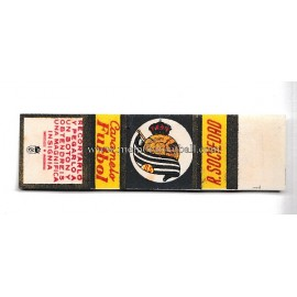1950s Real Sociedad candy wrapper