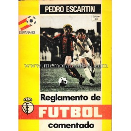 Reglamento del Fútbol 1981 por Pedro Escartín