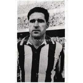 """José María """"ORÚE"""" Athletic Club 1960s foto-tarjeta"""