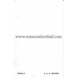"""""""RODILLA"""" RCD Español 1960s foto-tarjeta"""
