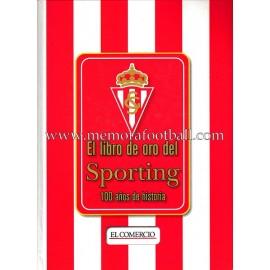 """""""El libro de oro del Sporting"""" 100 años de historia (1905-2005)"""