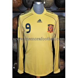 """FERNANDO TORRES"" Spain National Team Nº9 2008"