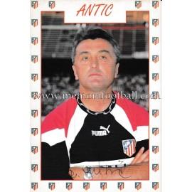 "Tarjeta postal de ""ANTIC"" Atlético de Madrid 1996"