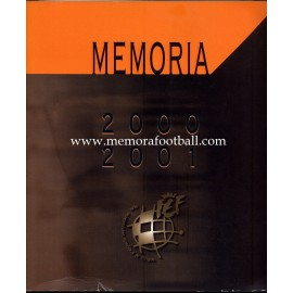 Memoria anual de la Real Federación Española de Fútbol 2000/2001