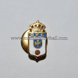 Insignia de solapa del Real Oviedo 1960-1970