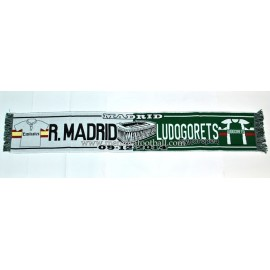 Real Madrid vs Ludogorets 09-12-2014 UEFA Champions League scarf