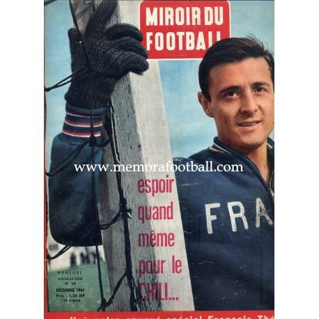 MIROIR DU FOOTBALL Nº24 Dec 1961