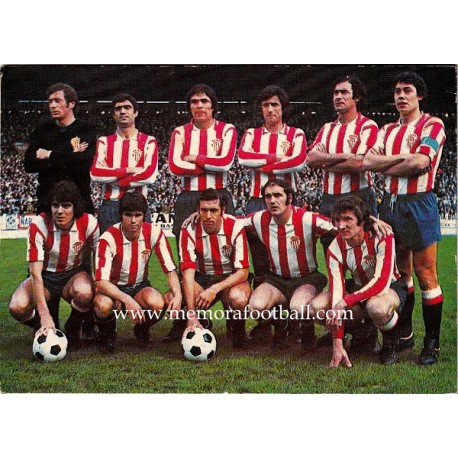 Calendario 1ª Division 1973-1974 Sporting de Gijón