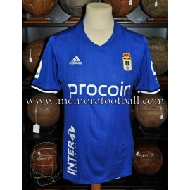 """CHRISTIAN FDEZ"" Real Oviedo LFP 2016-17 match worn shirt"