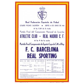 FC Barcelona vs Sporting de Gijón Final Copa del Rey 18/06/81