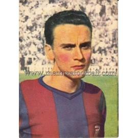 """""""BIOSCA"""" Barcelona C.F. 1950-52 card"""