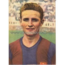 """GONZALVO"" Barcelona C.F. 1950-1952 card"