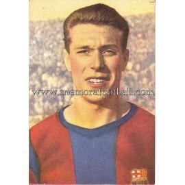 """""""VILA"""" Barcelona C.F. 1950-1952 cromo"""
