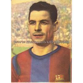 """""""SEGUER"""" Barcelona C.F. 1950-1952 card"""