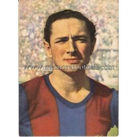 """MARTÍN"" Barcelona C.F. 1950-1952 card"