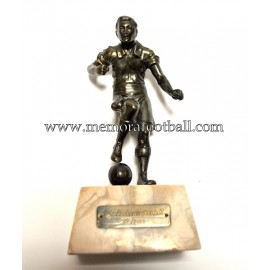 A spelter figure of a footballer 1938 Germany