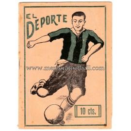 """""""EL DEPORTE"""" Semanario malagueño de deportes y espectáculos 12-02-1925"""
