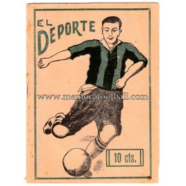 """EL DEPORTE"" Spanish Magazine, February 12, 1925"