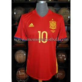 """THIAGO"" Spain vs England 15-11-2016 match worn shirt"