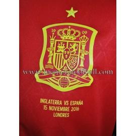 """THIAGO"" España vs Inglaterra 15-11-2016 match worn"