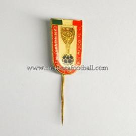 Insignia de aguja del Campeonato Mundial del Fútbol México 1970