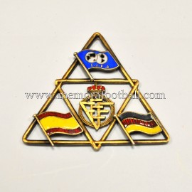 Spain vs Germany 1966 FIFA World Cup badge