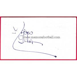 """MAURO SILVA"" Deportivo de la Coruña Autograph"