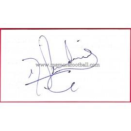 """PANDIANI"" Deportivo de la Coruña Autograph"