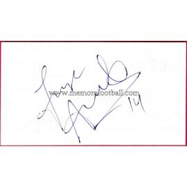 """""""ANDRADE"""" Deportivo de la Coruña Autograph"""