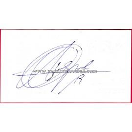 """""""LUQUE"""" Deportivo de la Coruña Autograph"""