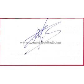 """""""CÉSAR"""" Deportivo de la Coruña Autograph"""