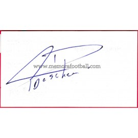 """DUSCHER"" Deportivo de la Coruña Autograph"