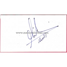"""MUNITIS"" Deportivo de la Coruña Autograph"
