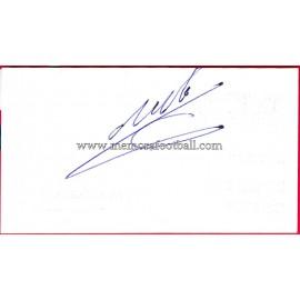 """""""MANUEL PALBLO"""" Deportivo de la Coruña Autograph"""