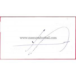 """""""FRAN"""" Deportivo de la Coruña Autograph"""