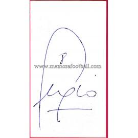 """""""SERGIO"""" Deportivo de la Coruña Autograph"""