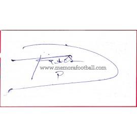 """""""DIEGO TRISTÁN"""" Deportivo de la Coruña Autograph"""