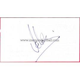 """""""VALERÓN"""" Deportivo de la Coruña Autograph"""