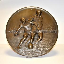 """Placa en relieve """"LE FOOTBALL"""" 1930-40"""