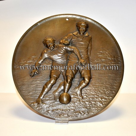 """LE FOOTBALL"" 1930-40 large plaque"