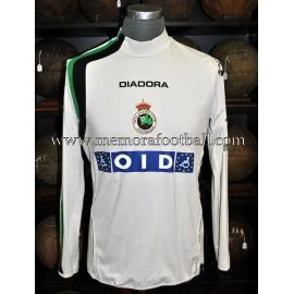 """""""AYOZE"""" Racing Santander 2004/05 match worn shirt"""