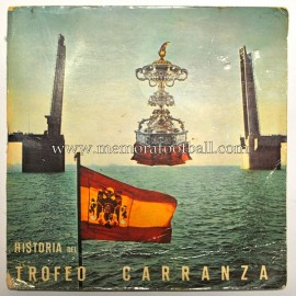 CARRANZA TROPHY HISTORY book-single vinyl record (1973)