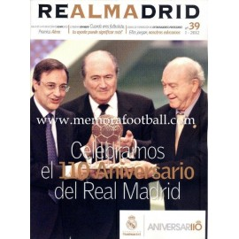 REAL MADRID (Official magazine) nº39, I - 2011