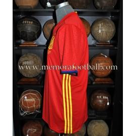 """SERGIO BUSQUETS"" España vs Inglaterra 15-11-2016 match worn"