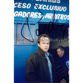 """PARDEZA"" Real Madrid CF signed photo"