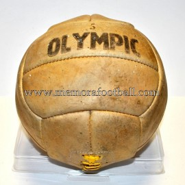 "Balón ""OLYMPIC"" 12 paneles 1950s Reino Unido"
